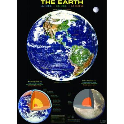 Puzzle Eurographics-6000-1003 Die Erde