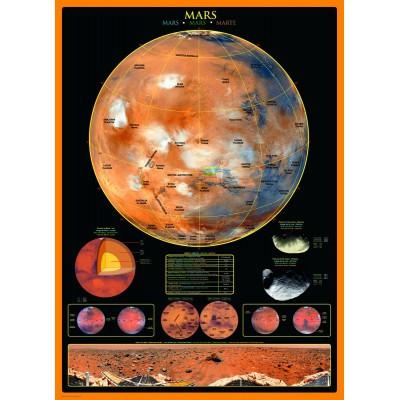 Puzzle Eurographics-6000-1006 Der Planet Mars