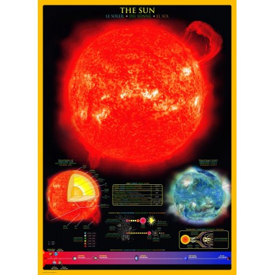 Puzzle Eurographics-6000-1008 Die Sonne