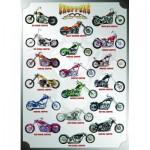 Puzzle  Eurographics-6000-1021 Motorräder Chopper
