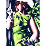 Puzzle  Eurographics-6000-1058 Meisje in groen
