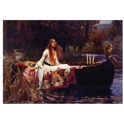 Puzzle Eurographics-6000-1133 Waterhouse: Die Lady von Shalott, 1888