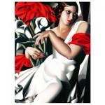Puzzle  Eurographics-6000-1205 Tamara De Lempicka: Portrait von Ira