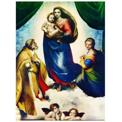 Puzzle Eurographics-6000-1211 Raphaël: Die Sixtinische Madonna