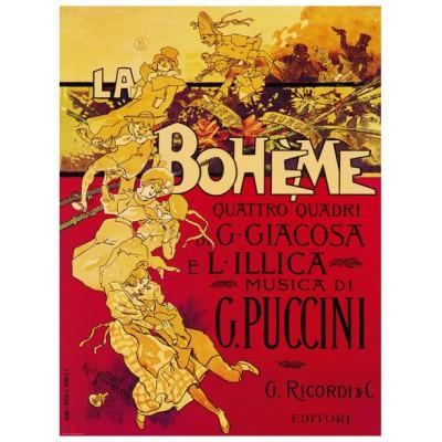 Puzzle Eurographics-6000-1367 Adolpho Hohenstein - Puccini La Boheme Opera