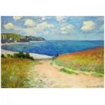 Puzzle  Eurographics-6000-1499 Claude Monet - Strandweg zwischen Weizenfeldern