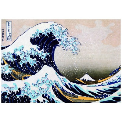 Puzzle Eurographics-6000-1545 Katsushika Hokusai: Super Welle in Kanagawa