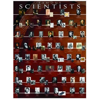 Puzzle Eurographics-6000-2000 Berühmte Wissenschaftler