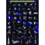 Puzzle  Eurographics-6000-2001 Raumsonden NASA