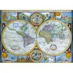Puzzle  Eurographics-6000-2006 Antike Weltkarte