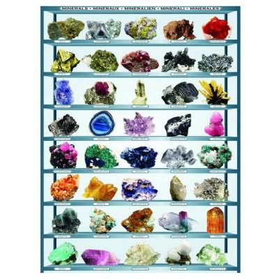 Puzzle Eurographics-6000-2008 Mineralien der Welt