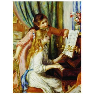 Puzzle Eurographics-6000-2215 Pierre-Auguste Renoir: Mädchen am Klavier