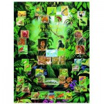 Puzzle  Eurographics-6000-2790 Der tropische Regenwald