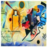 Puzzle  Eurographics-6000-3271 Kandinsky: Gelb, Rot, Blau