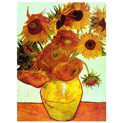 Puzzle Eurographics-6000-3688 Van Gogh: Sonnenblumen
