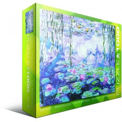 Puzzle Eurographics-6000-4366 Monet Claude: Seerosen