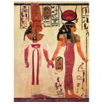 Puzzle  Eurographics-6000-5097 Ägypten: Nefertari, geführt von Isis