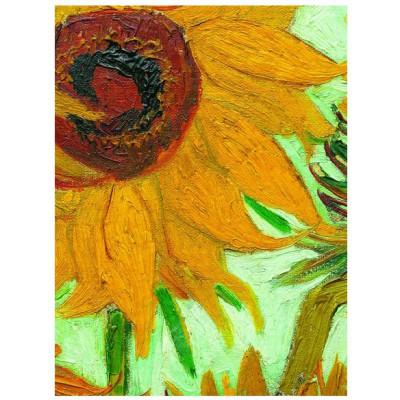 Puzzle Eurographics-6000-5429 Vincent Van Gogh: Sonnenblumen (Detail)