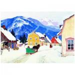 Puzzle  Eurographics-6000-7182 Gagnon: Laurentianisches Dorf