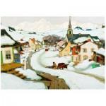 Puzzle  Eurographics-6000-7183 Gagnon: Dorf in Laurentians