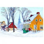 Puzzle  Eurographics-6000-7190 Gagnon: Wintermorgen in Baie-St-Paul