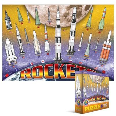 Puzzle Eurographics-6001-1015 Internationale Raketen