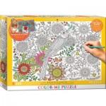 Puzzle  Eurographics-6033-0881 Color Me - Schöner Garten