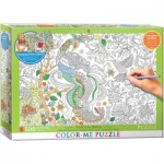 Puzzle  Eurographics-6055-0889 XXL Color Me - Tropical Birds