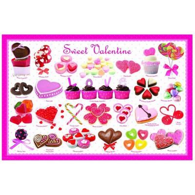 Puzzle Eurographics-6100-0431 Süßer Valentinstag