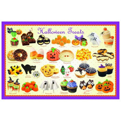 Puzzle Eurographics-6100-0432 Halloweenbonbons