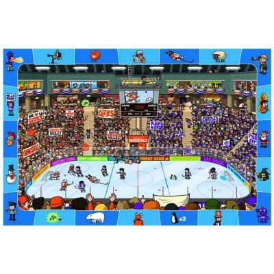 Puzzle Eurographics-6100-0475 Suche und Finde: Hockey