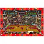 Puzzle  Eurographics-6100-0498 Suche und Finde: Basketball