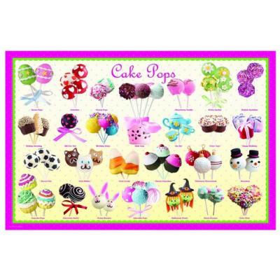 Puzzle Eurographics-6100-0518 Cake pops