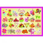 Puzzle  Eurographics-6100-0521 Süßigkeiten