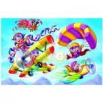 Puzzle  Eurographics-6100-0523 Girl Power - Pilotinen