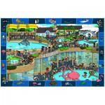 Puzzle  Eurographics-6100-0543 Aufregung im Aquarium