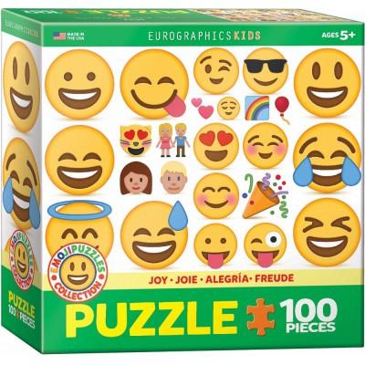 Eurographics-6100-0866 Emojipuzzle - Freude