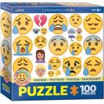 Eurographics-6100-0867 Emojipuzzle - Traurigkeit