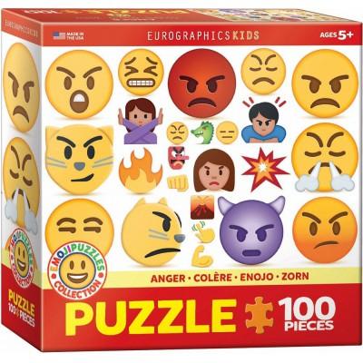 Eurographics-6100-0868 Emojipuzzle - Zorn