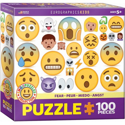 Eurographics-6100-0869 Emojipuzzle - Angst