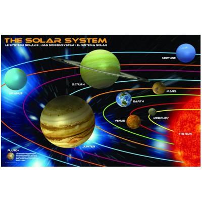 Puzzle Eurographics-6100-1009 Das Sonnensystem