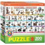 Puzzle  Eurographics-6200-0724 Erfinder und Ihre Erfindungen