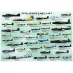 Puzzle  Eurographics-8000-0075 Flugzeuge aus dem Zweiten Weltkrieg