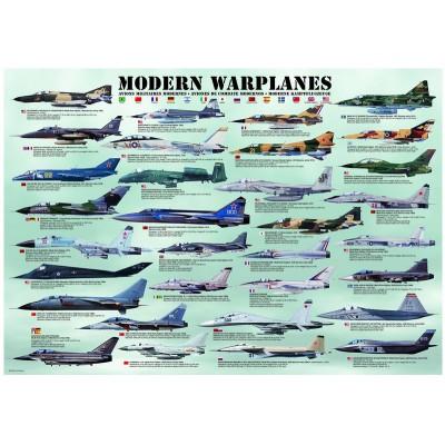 Puzzle Eurographics-8000-0076 Moderne Kampfflugzeuge