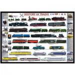 Puzzle  Eurographics-8000-0251 Geschichte der Züge