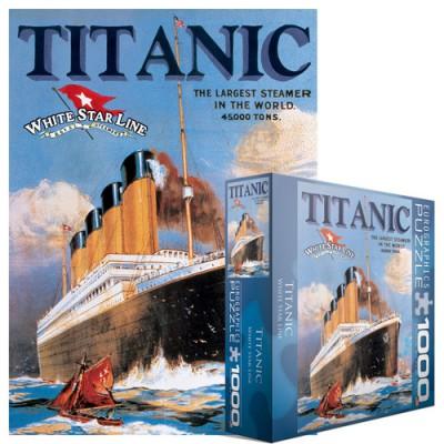 Puzzle Eurographics-8000-0389 Titanic