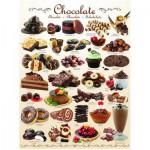 Puzzle  Eurographics-8000-0411 Schokolade