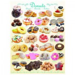 Puzzle  Eurographics-8000-0430 Donuts