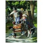Puzzle  Eurographics-8000-0439 Bob Byerley - Kinder Lebenserinnerungen - Die Hilfen kommen an