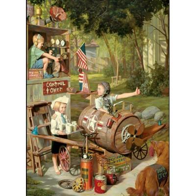 Puzzle Eurographics-8000-0440 Bob Byerley - Kinder Lebenserinnerungen - Schauspieler